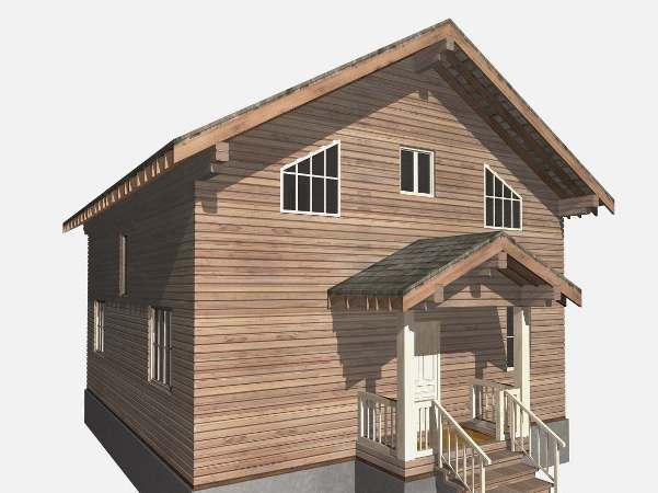 В середине декабря Компания Лесоград начала строительство деревянного брусового дома в 200 квадратных метров в