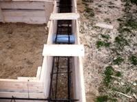 Фундамент. Деревянная опалубка